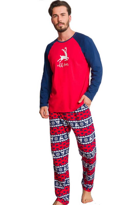 Pyžamo pro muže Vánoční 1P1048