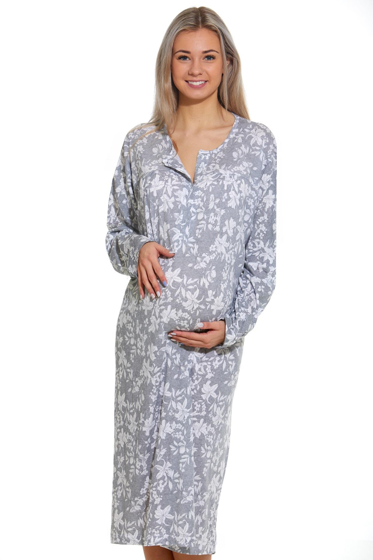 Noční košilka do porodnice kojící  1C2353