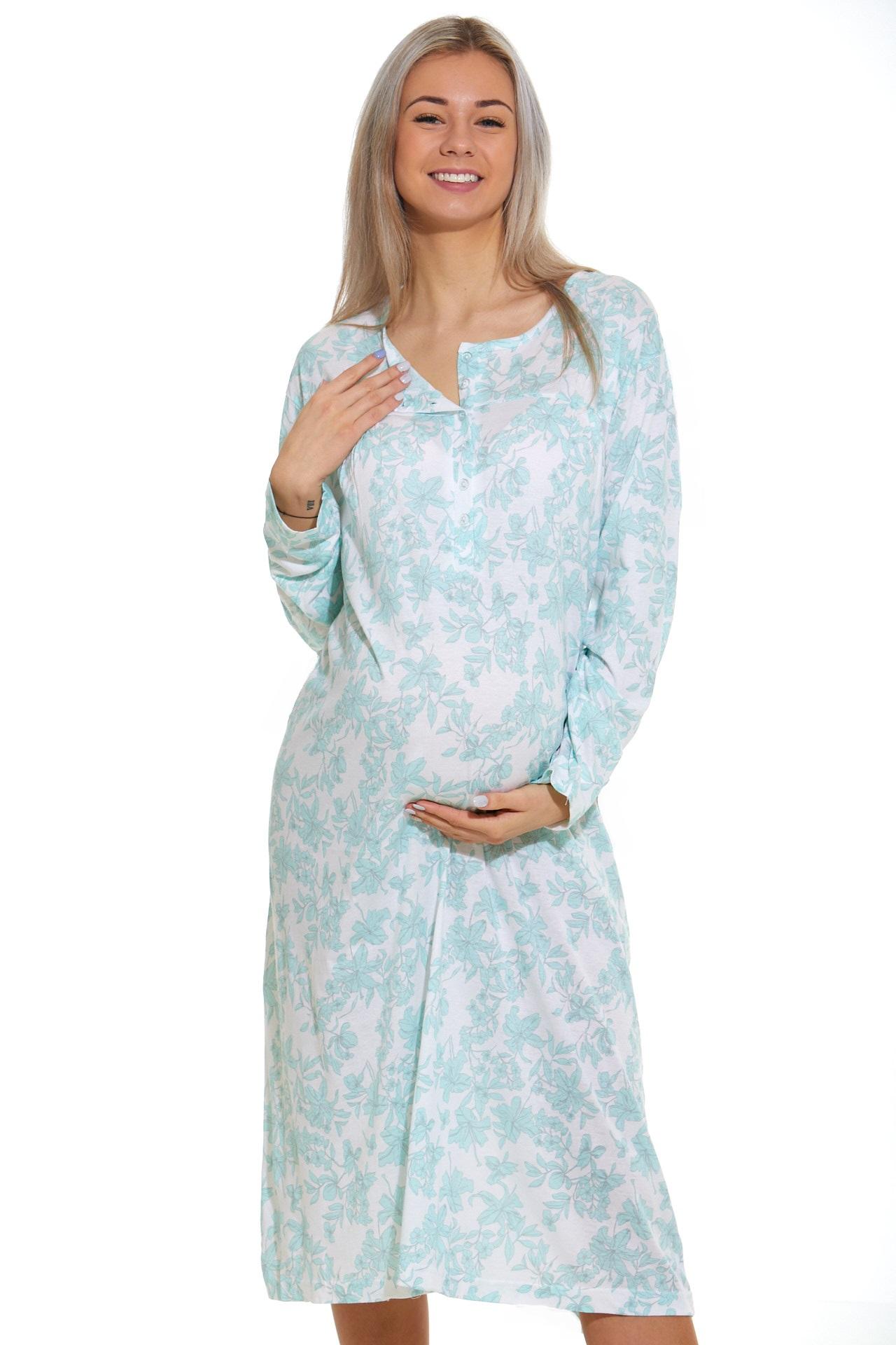 Noční košilka do porodnice kojící  1C2352