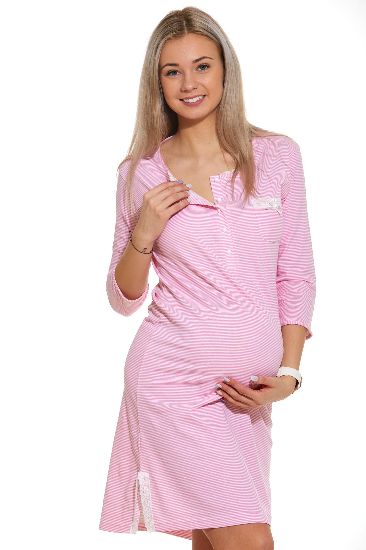 Noční košilka do porodnice kojící  1C2338