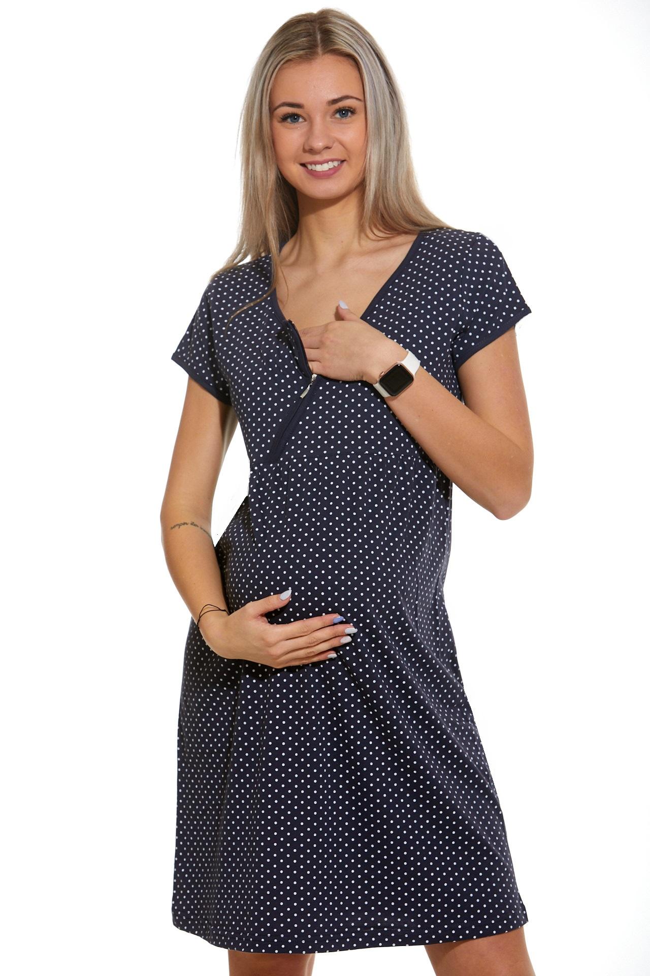 Noční košilka do porodnice kojící  1C2330