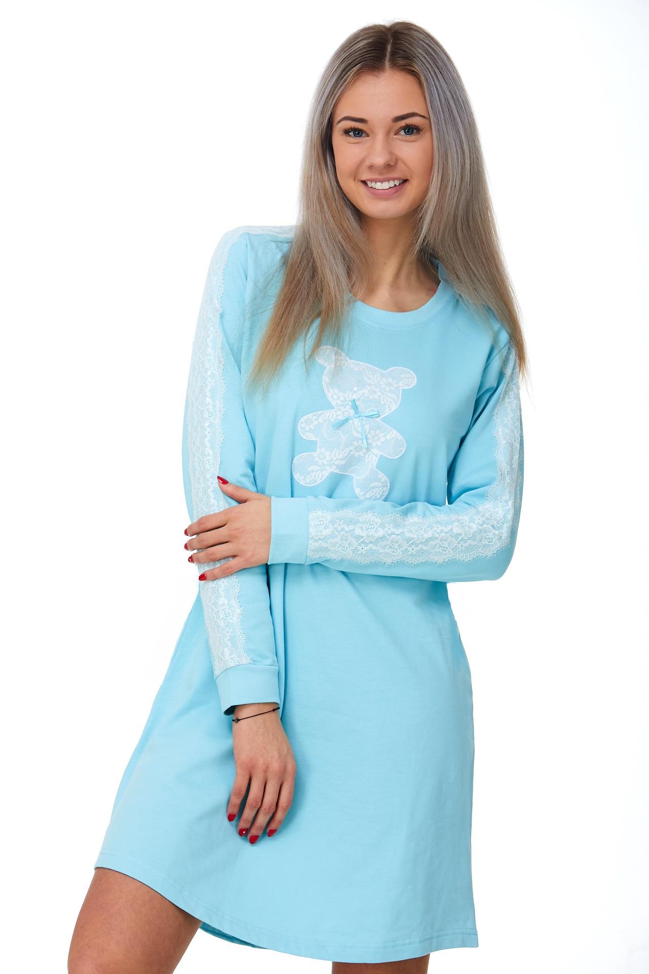 Noční košilka pro ženy, teplá 1C2343
