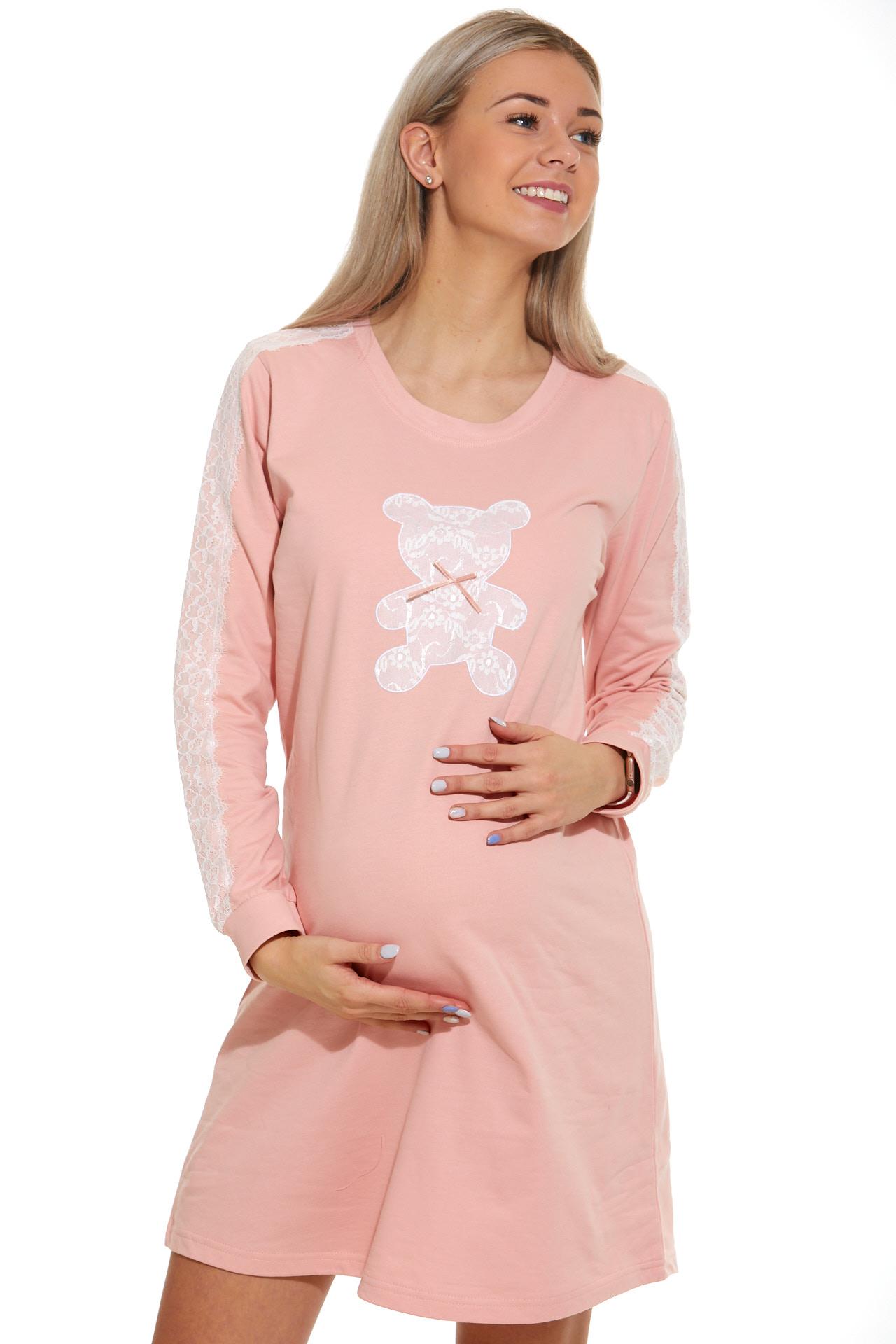 Košilka pro těhotné zateplená 1C2342