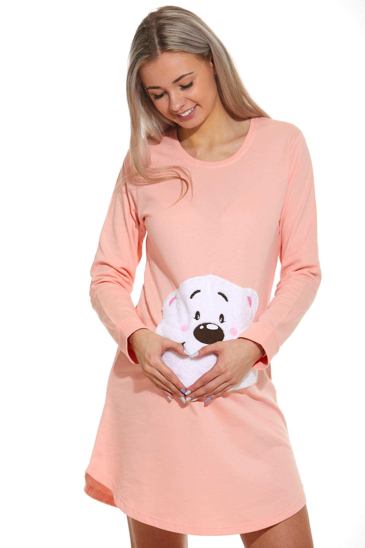Košilka pro těhotné zateplená 1C2341