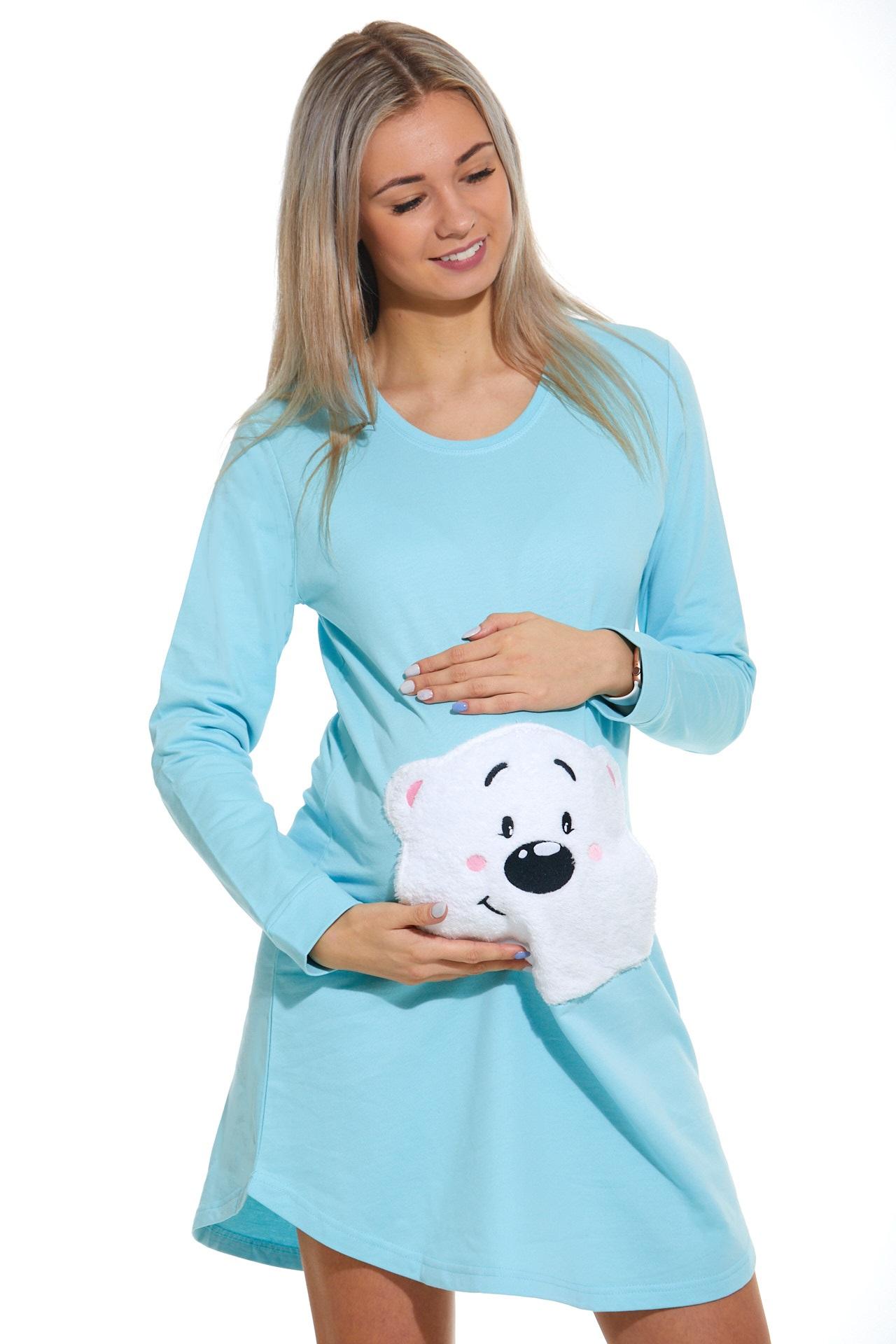 Košilka pro těhotné zateplená 1C2340