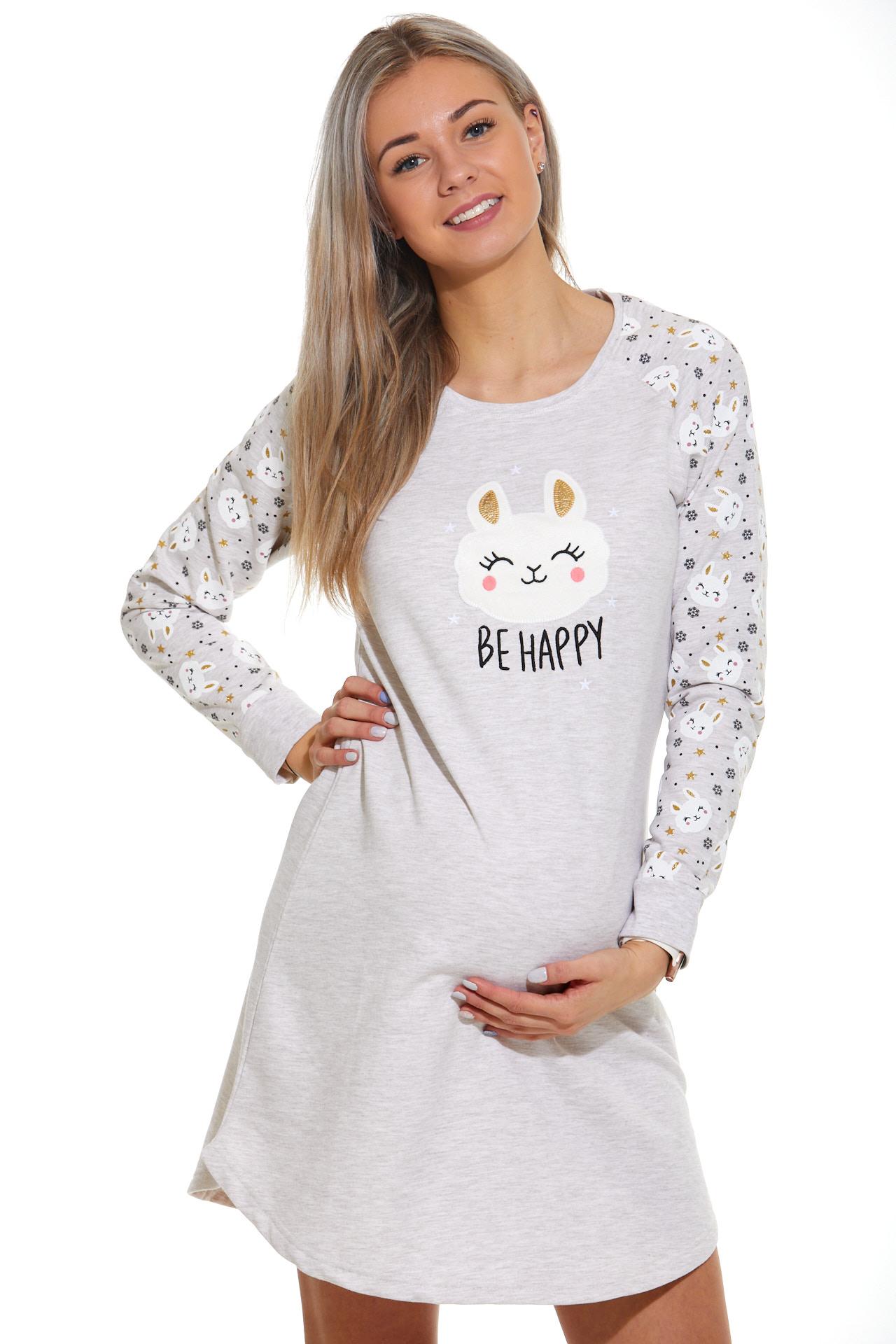 Košilka pro těhotné zateplená 1C2345