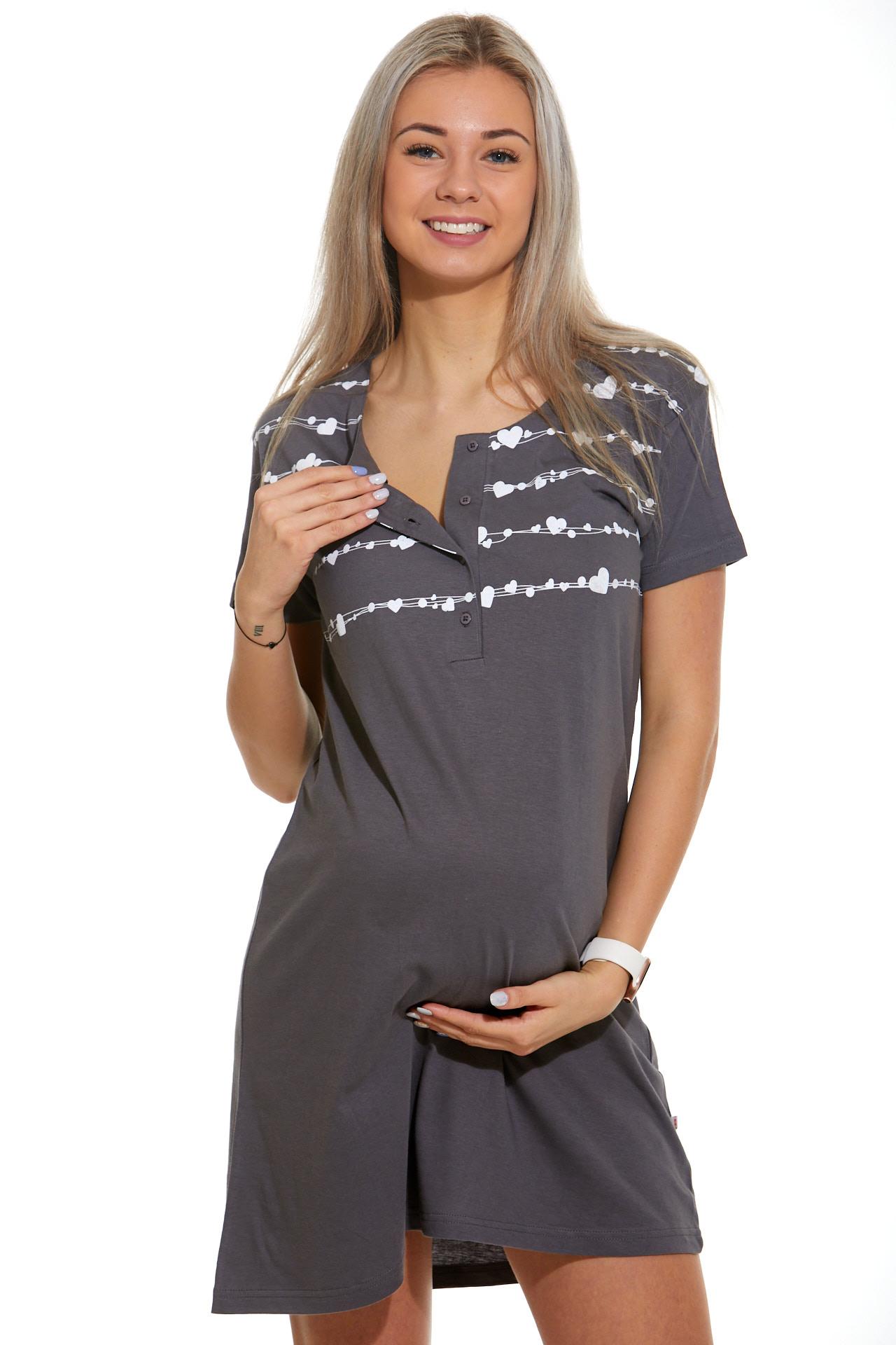 Kojící a těhotenská košilka 1C2357