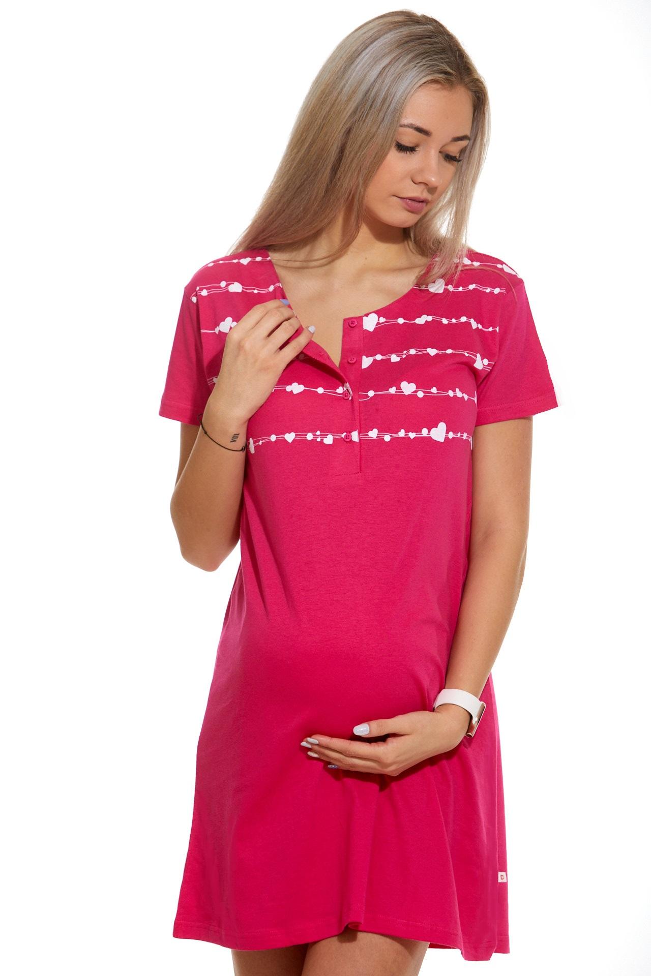 Kojící a těhotenská košilka 1C2356