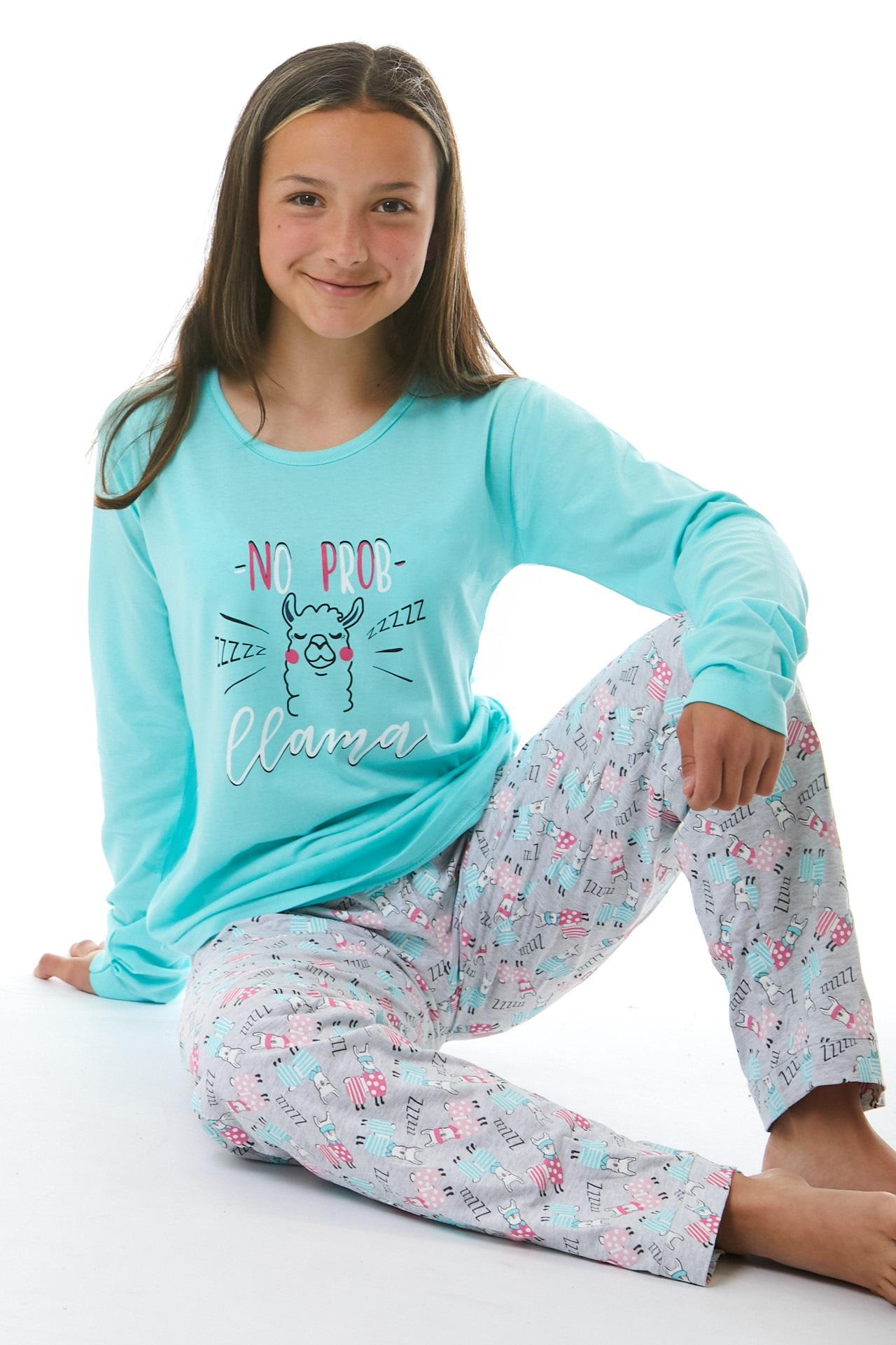 Pyžamo pro holky Lama 1F0576