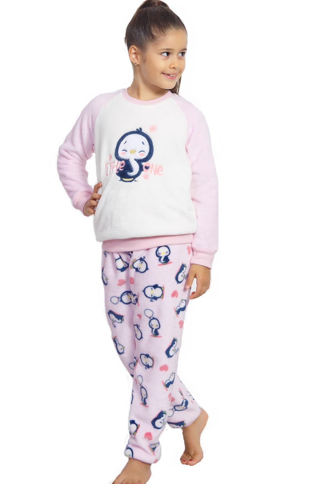 Pyžamo pro holky extrateplé 1F0574