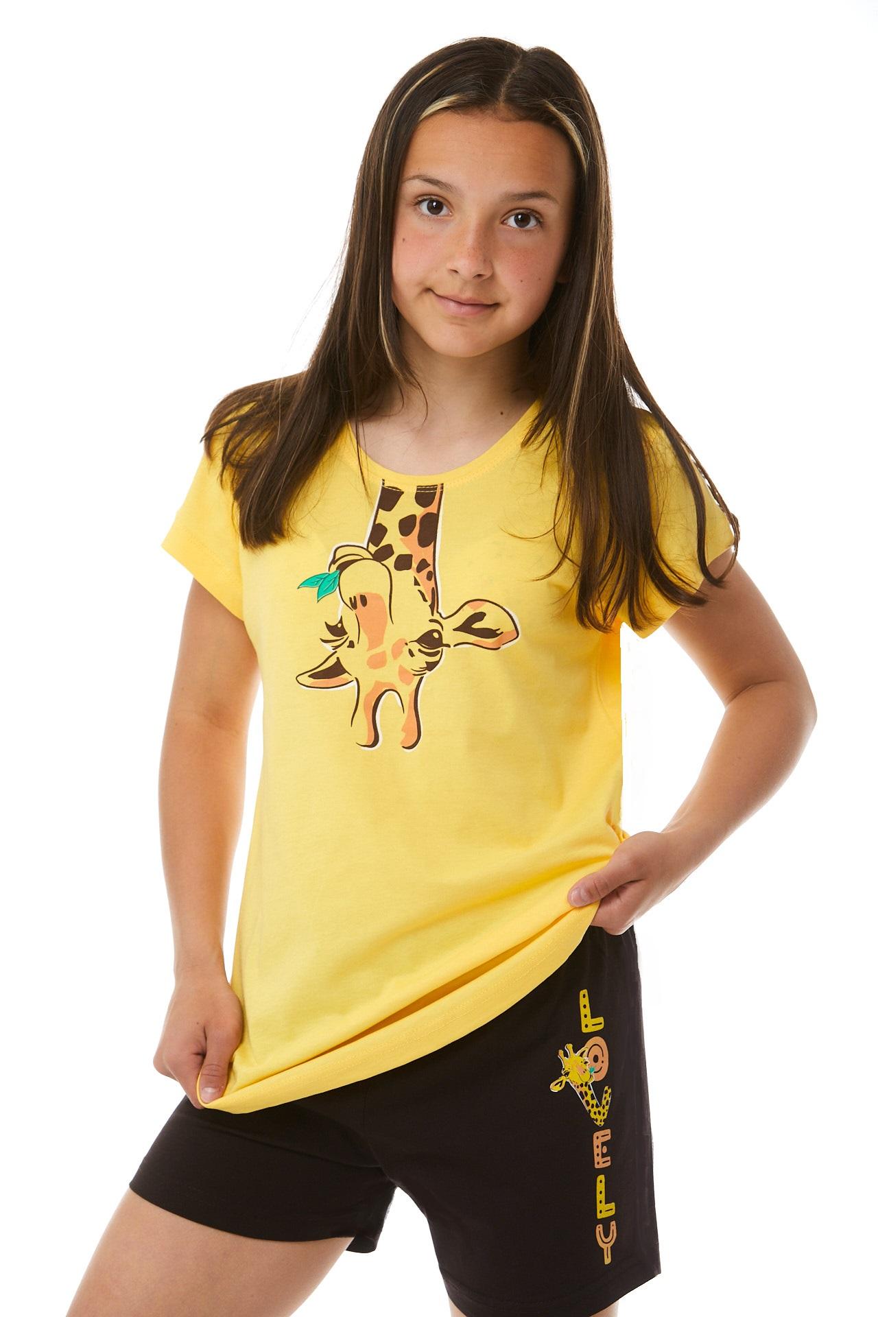 Pyžamo pro holky žirafa 1F0570