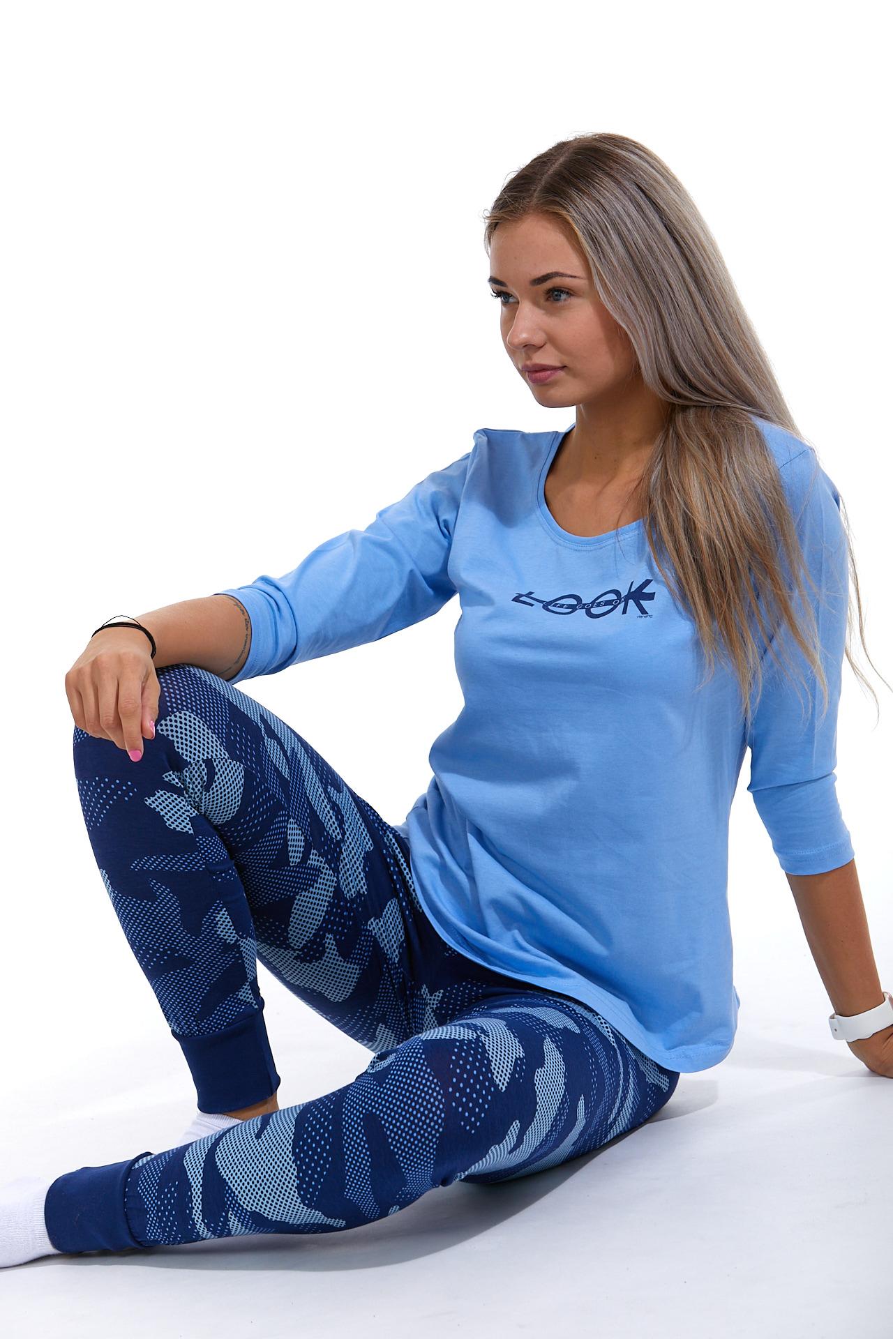 Dámské pyžamo comfort legins 1B1058