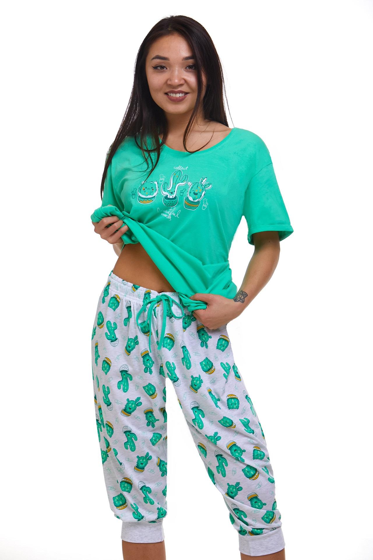 Dámské pyžamo Kaktus 1B1090