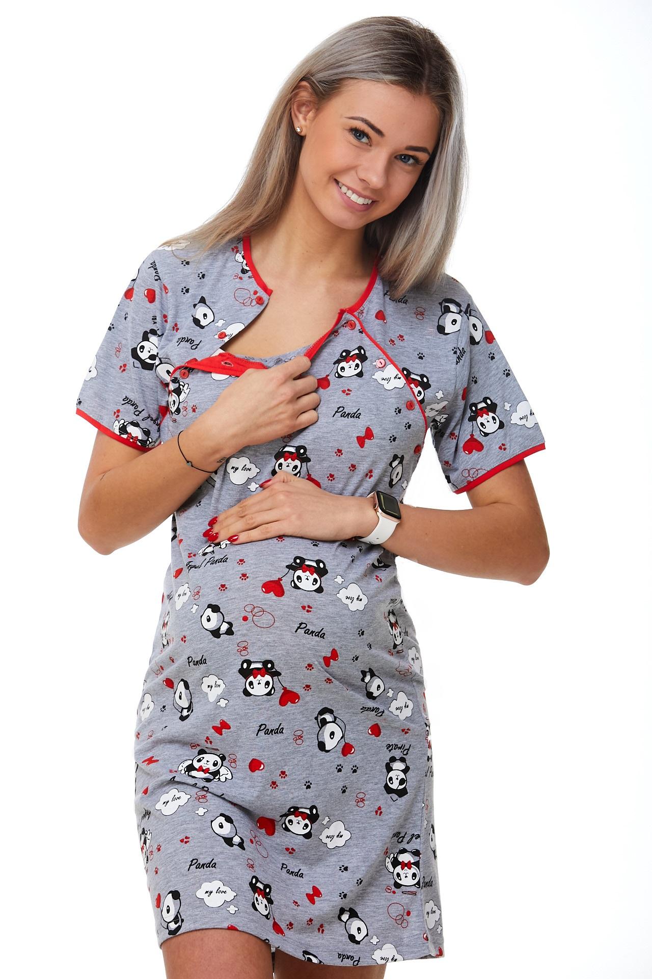 Košilka kojící do porodnice Pandy 1C2369