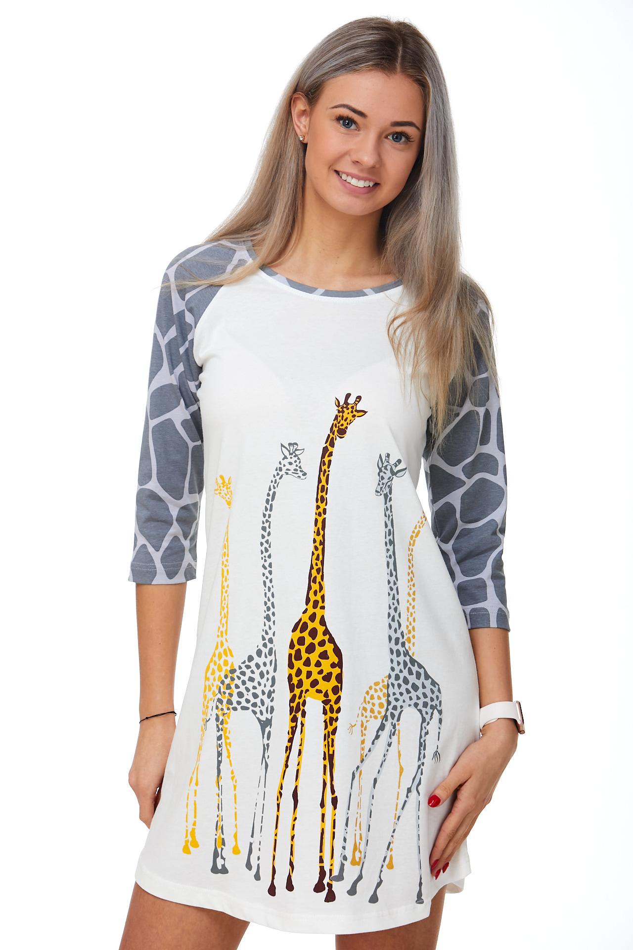 Dámská košilka Žirafa 1C2368