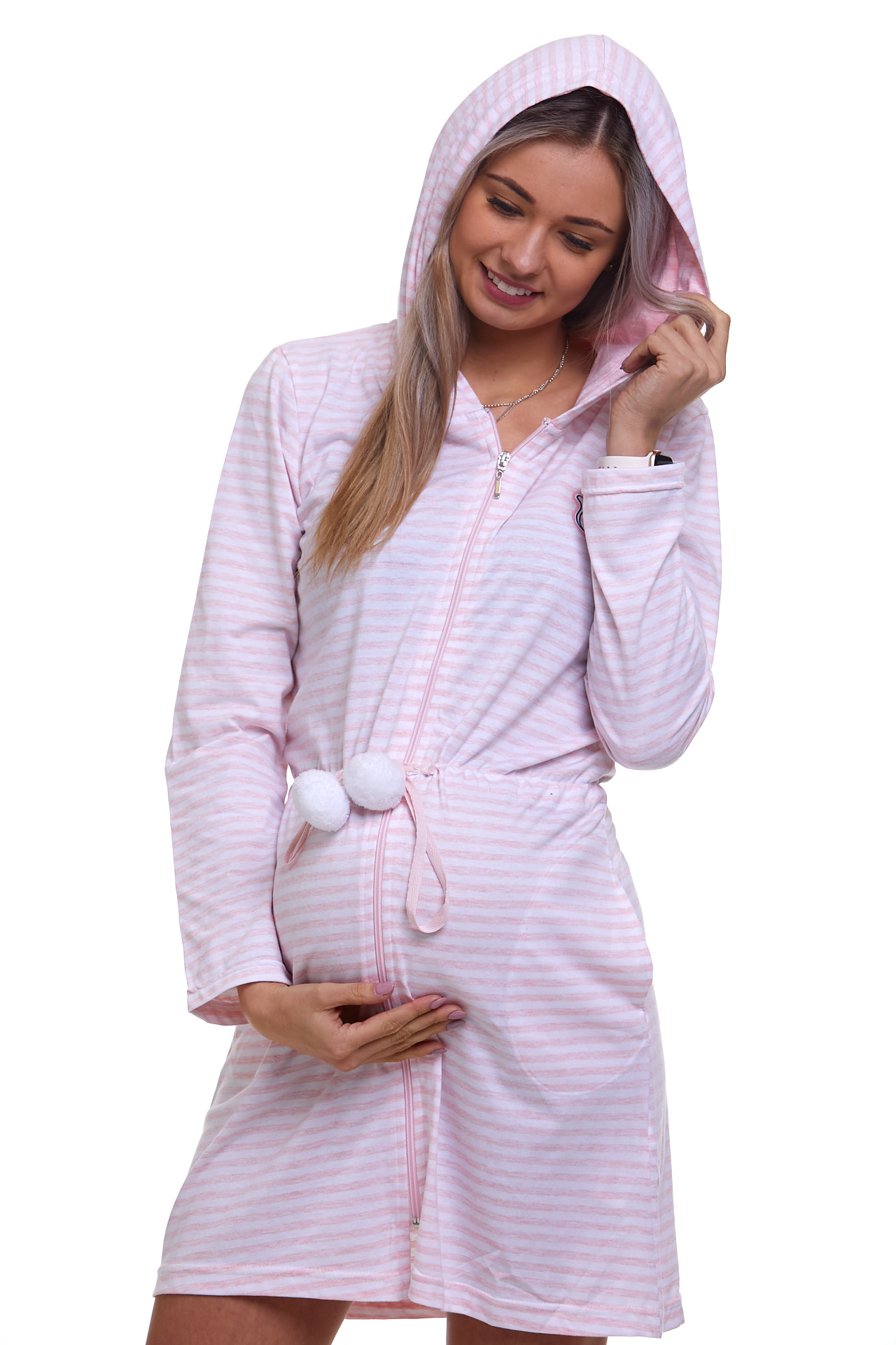 Těhotenský župan na kojení 1G0327