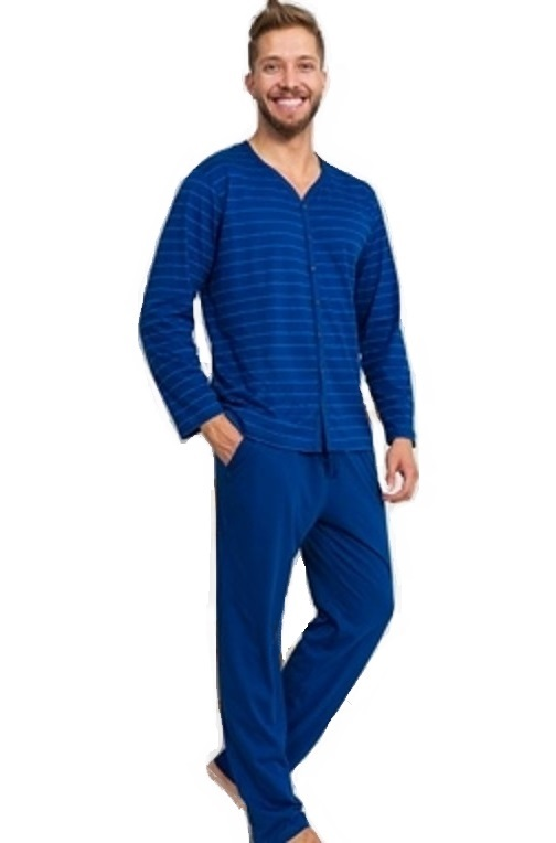 Pyžamo pro muže celopropínací 1P1103