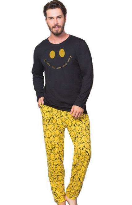 Pyžamo pro muže Smajl :) 1P1106