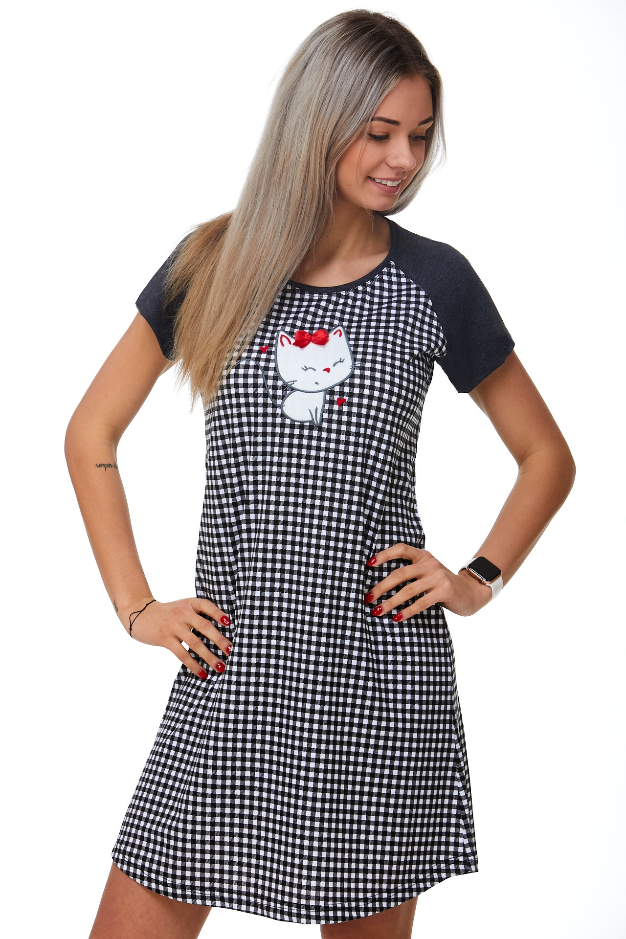 Dámská košilka na spaní Kotě 1C2386