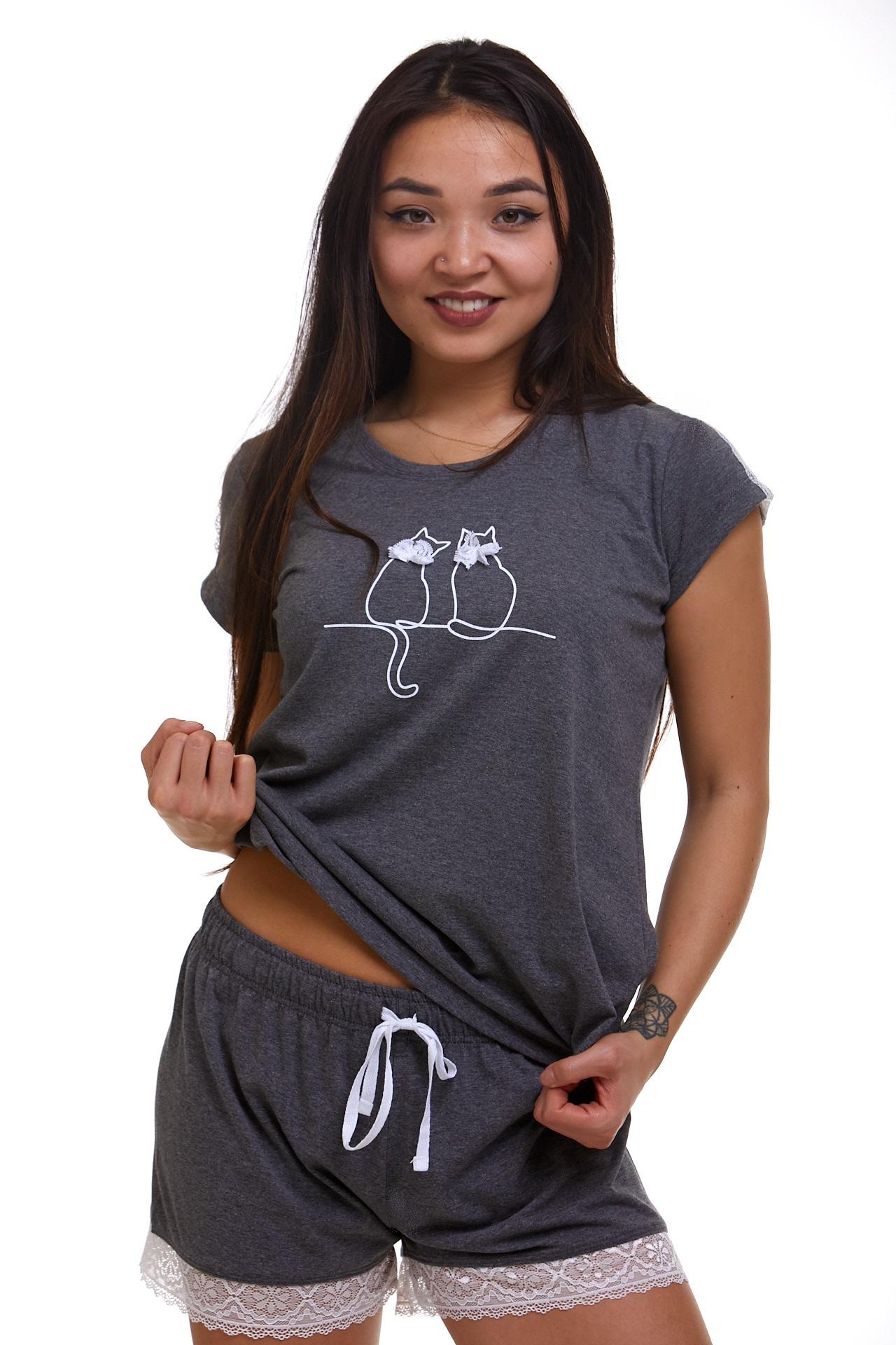 Dámské pyžamo Kočičí 1B1100