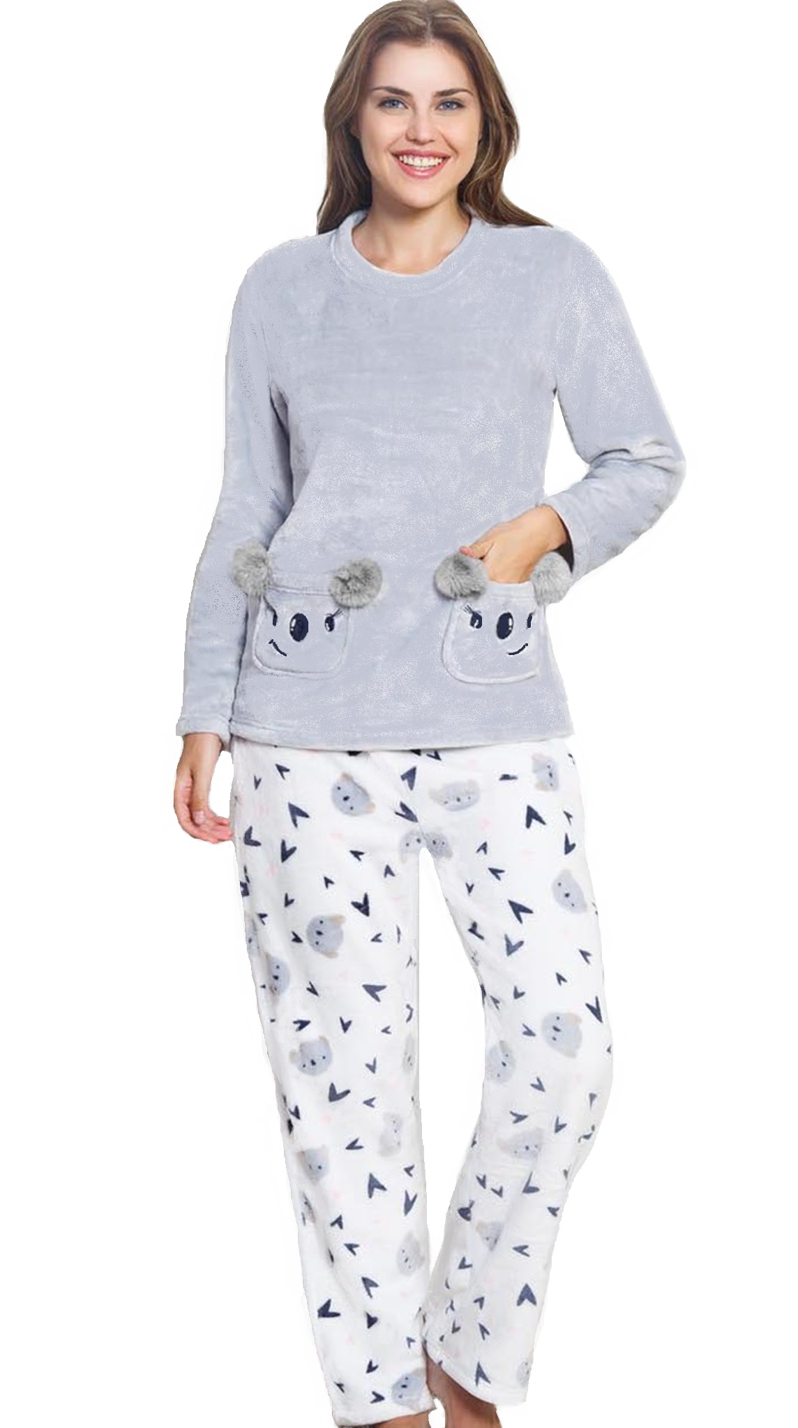 Pyžamo extra teplé pro ženy Koala