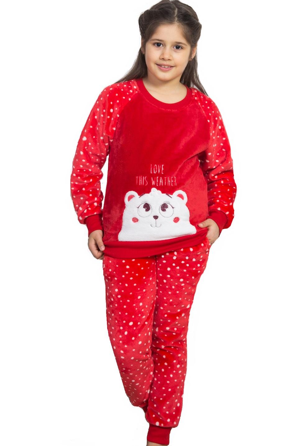Pyžamo pro holky extrateplé méďa 1F0580
