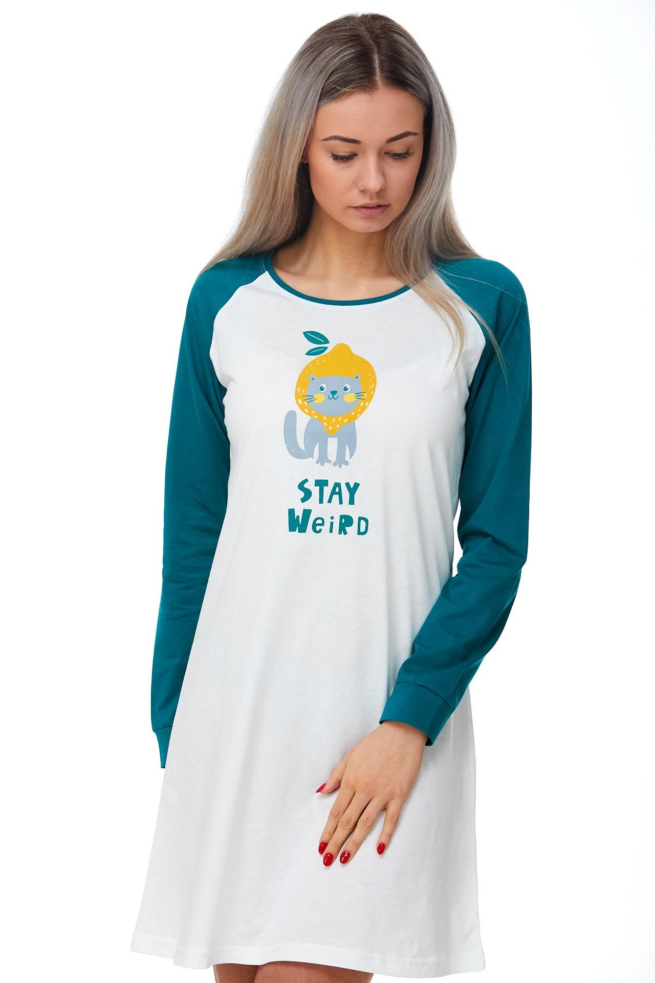 Noční košilka Svěží kočka 1C2396