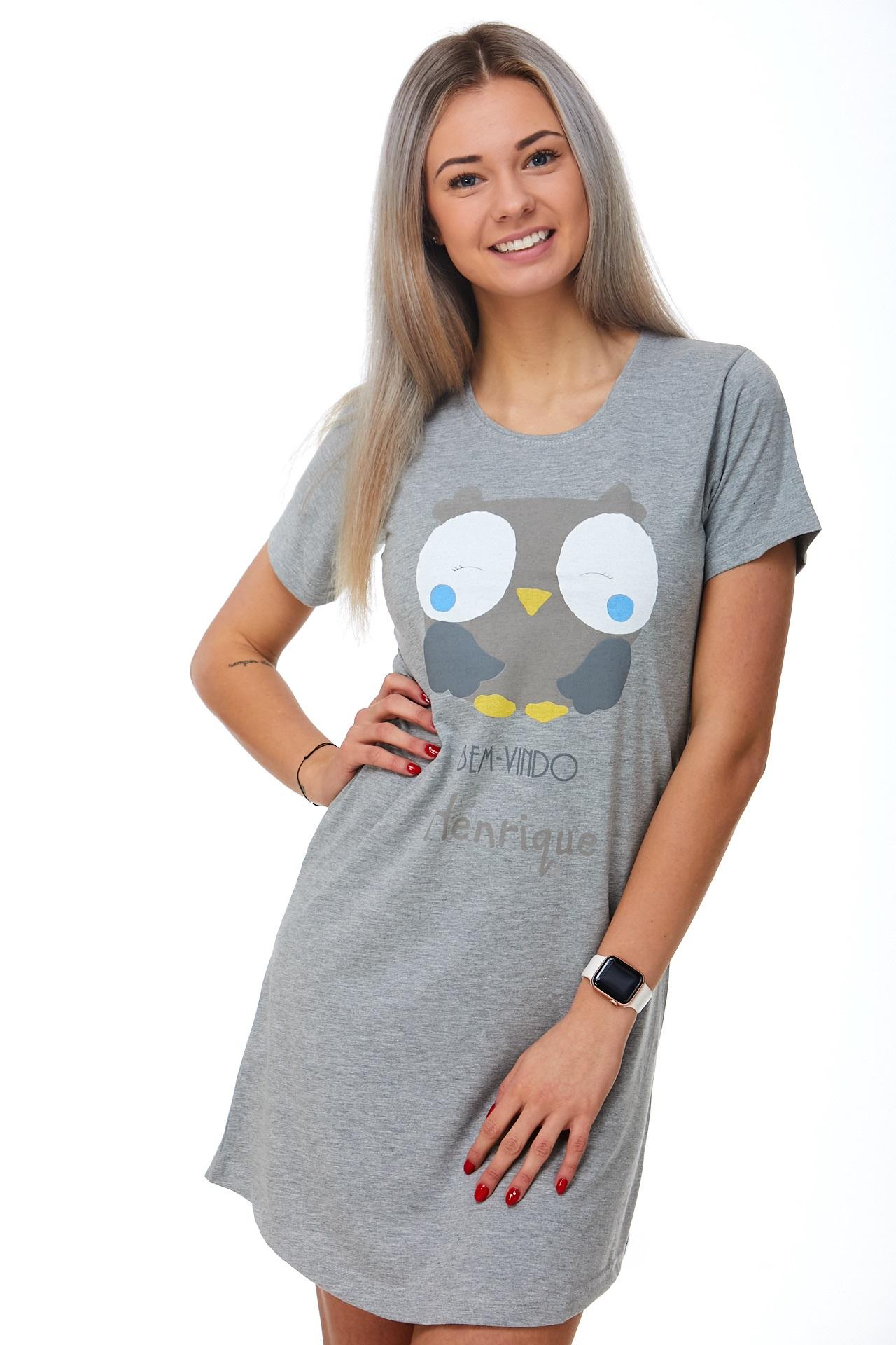 Noční košilka jemná Sovička 1D0837