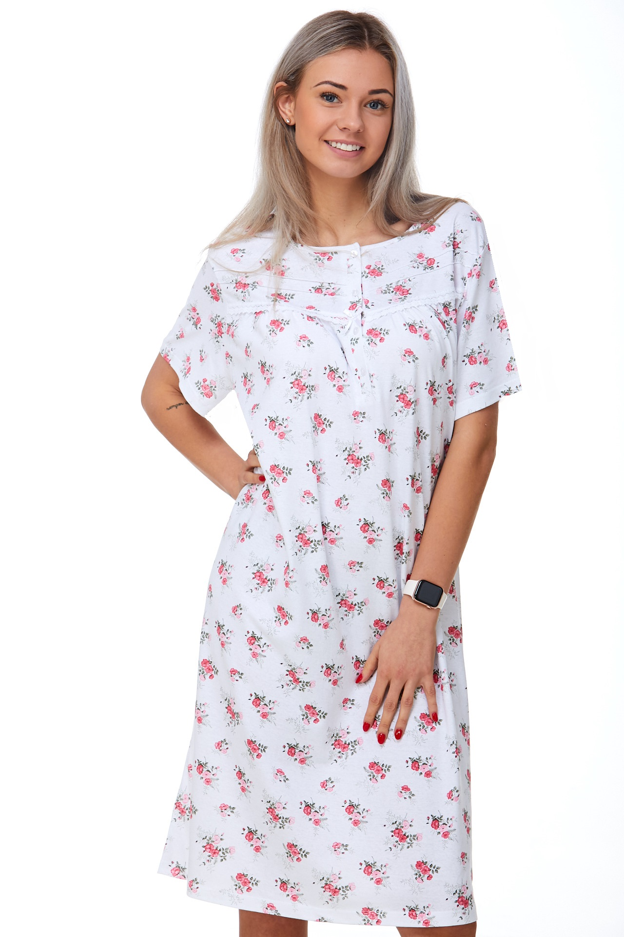 Kojící a těhotenská košilka 1C2401