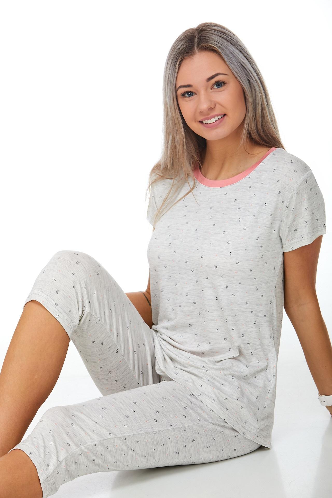 Pyžamo luxusní dámské 1D0875