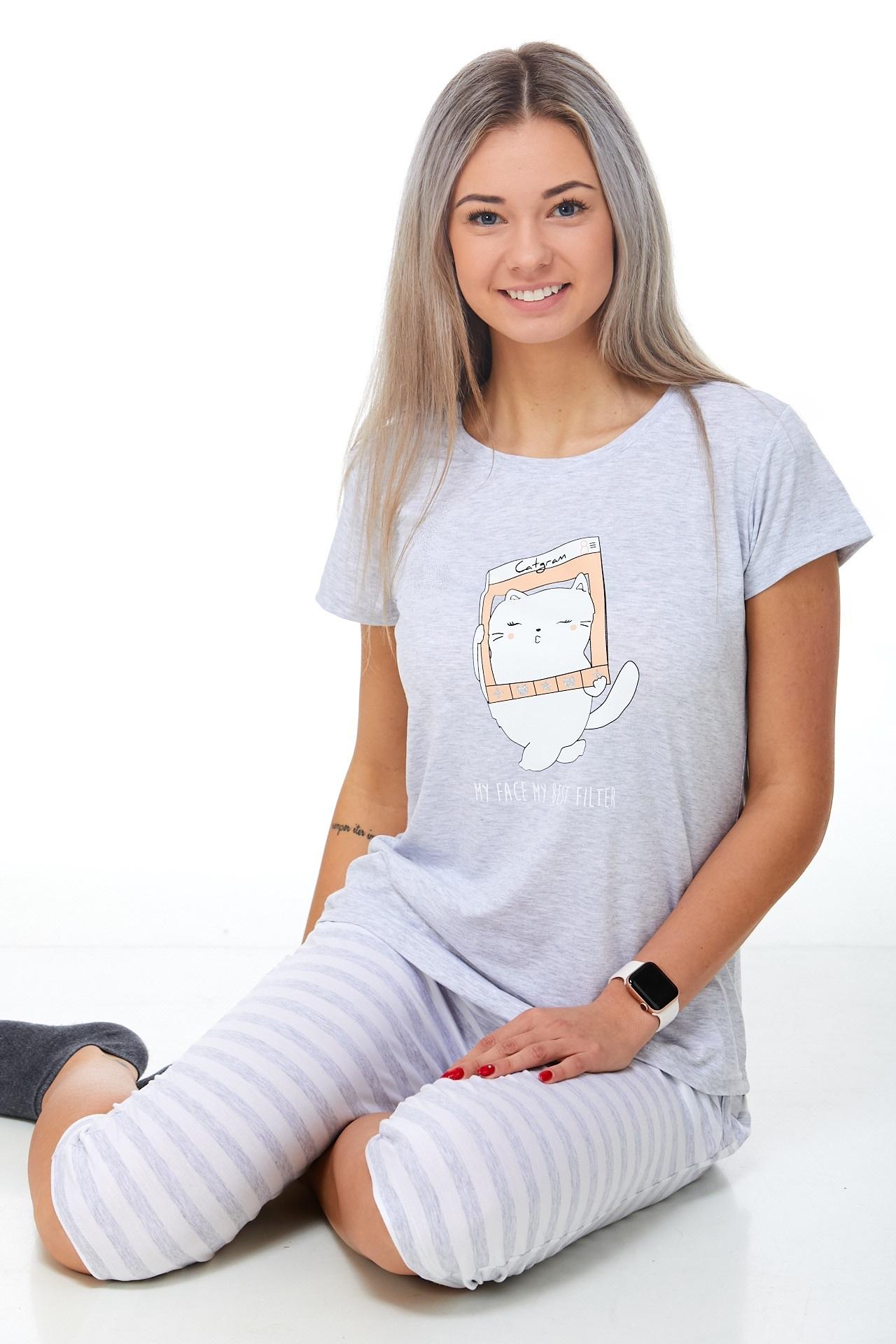 Pyžamo luxusní dámské 1D0866