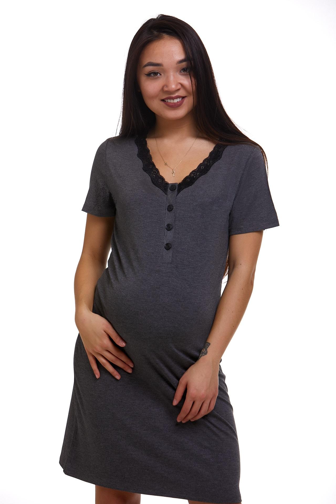 Kojící a těhotenská košilka luxusní 1C2414