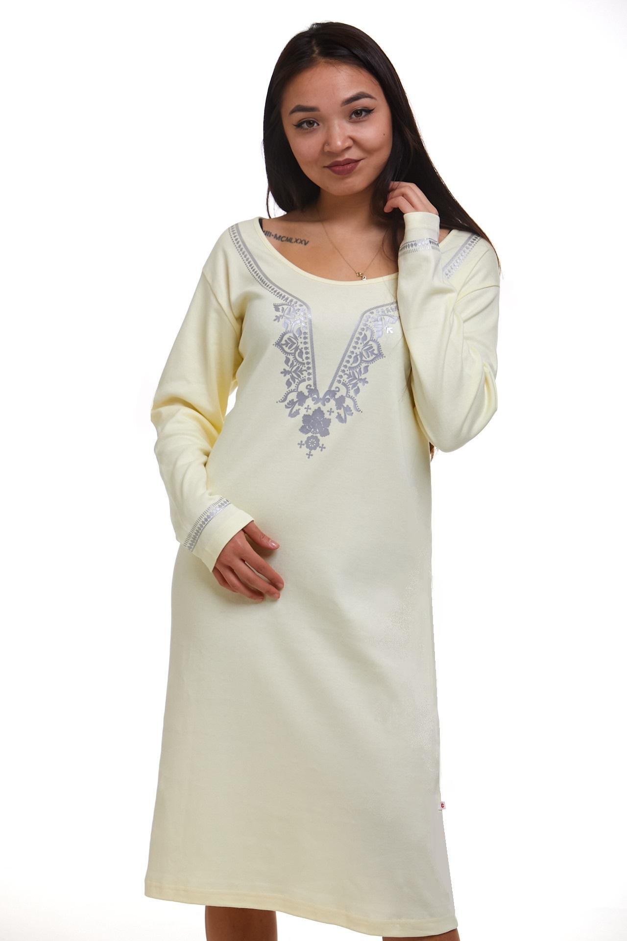 Noční košilka pro ženy teplá 1C2453