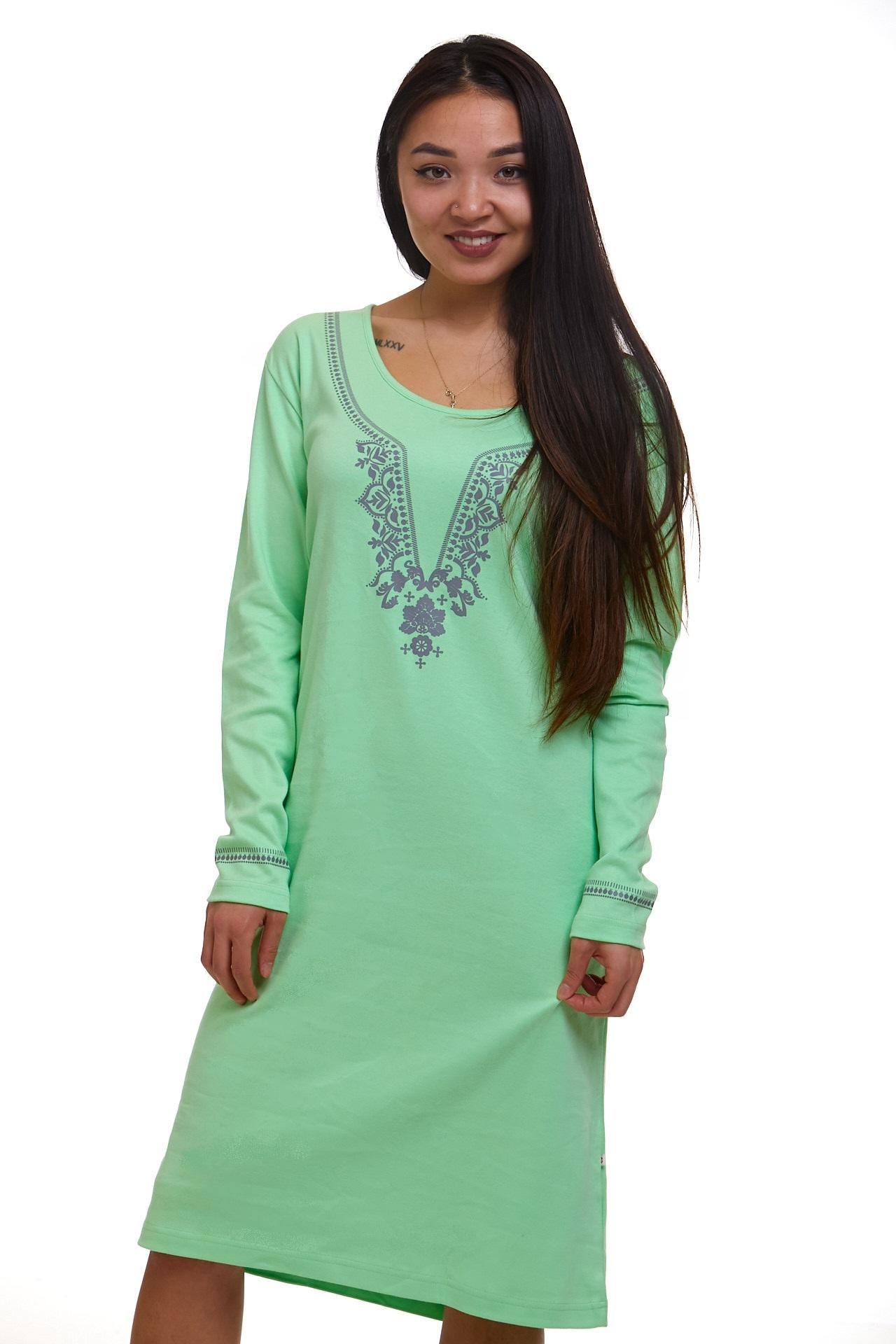 Noční košilka pro ženy teplá 1C2452