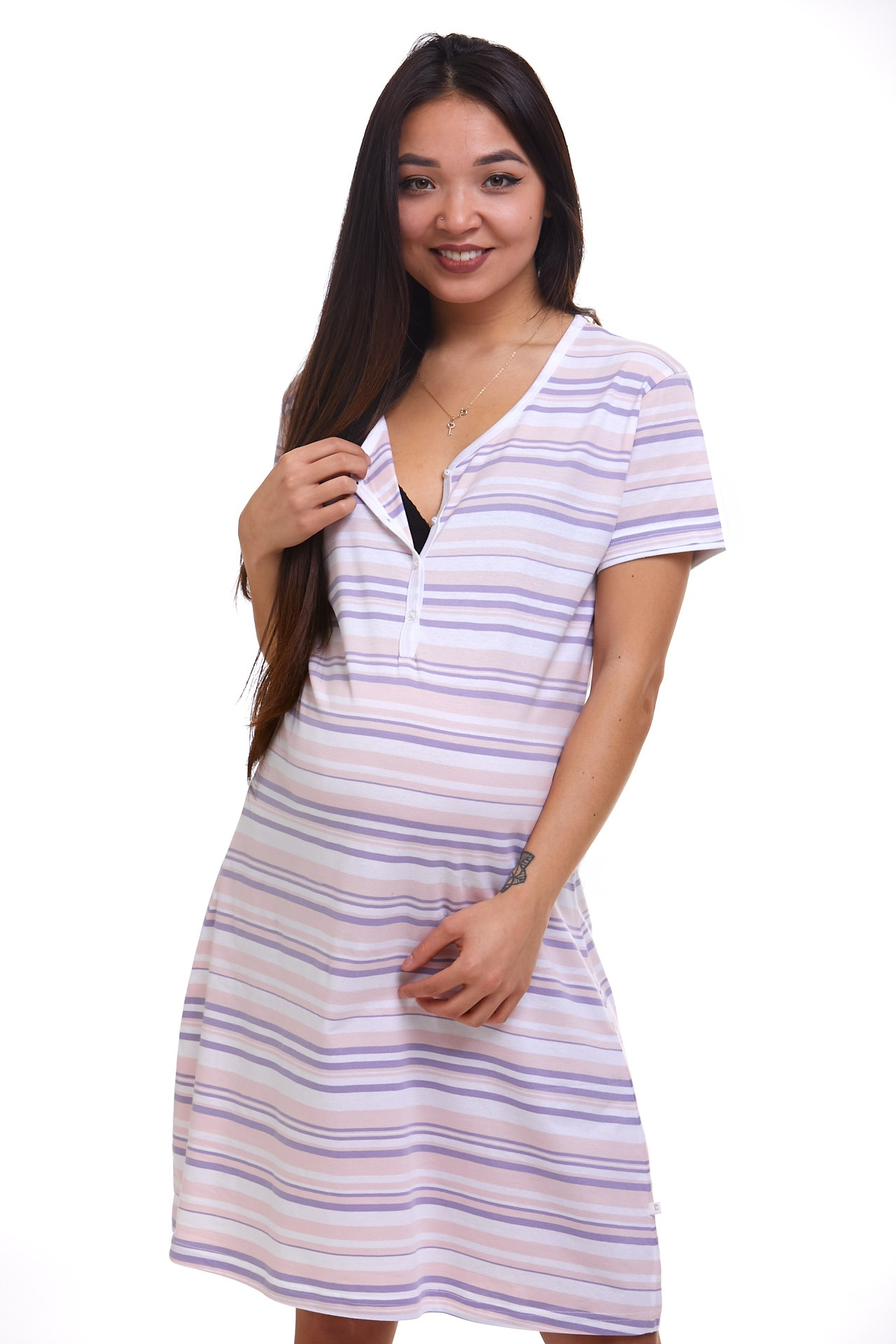 Kojící a těhotenská košilka 1C2435
