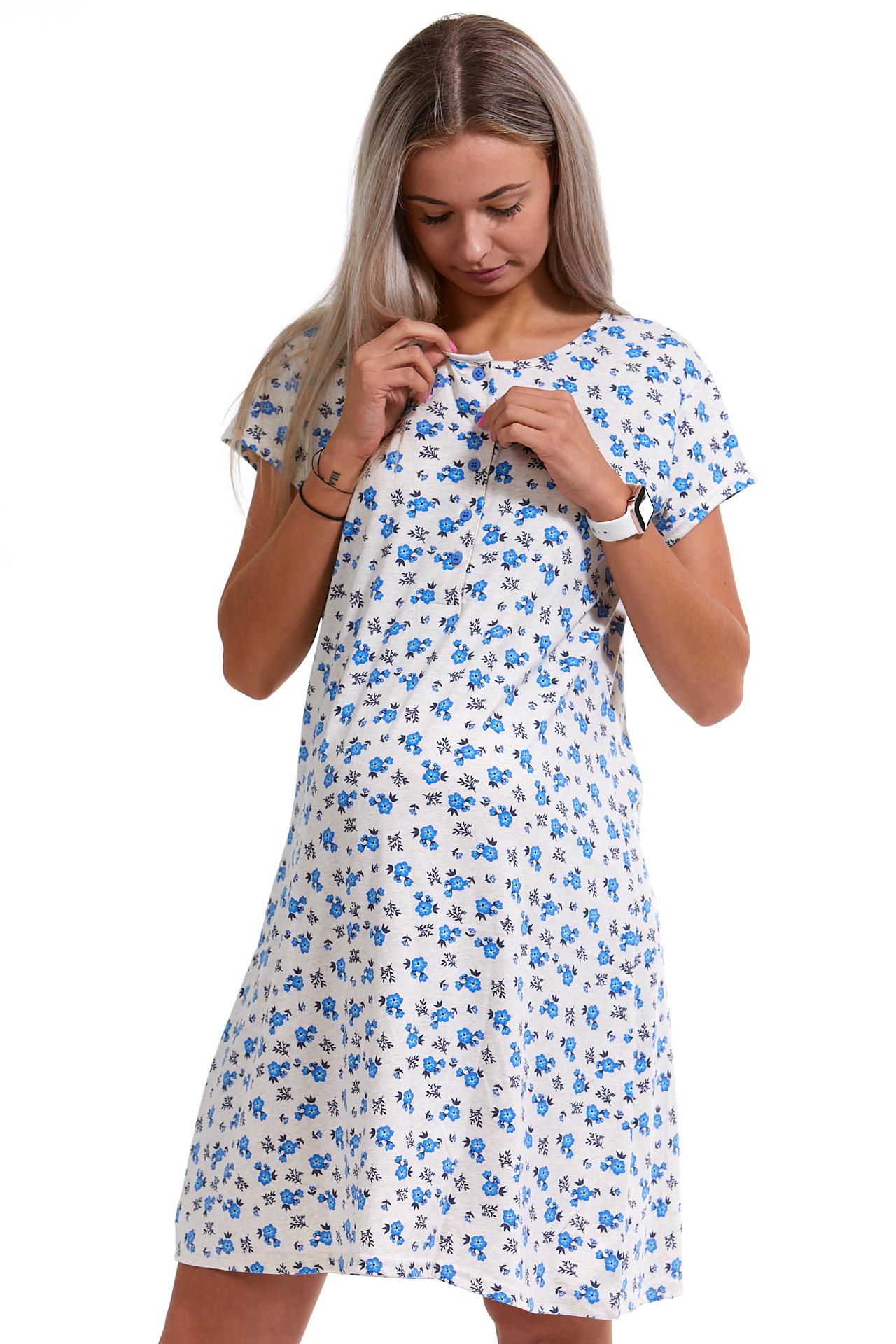 Kojící a těhotenská košilka Poměnky 1C2429