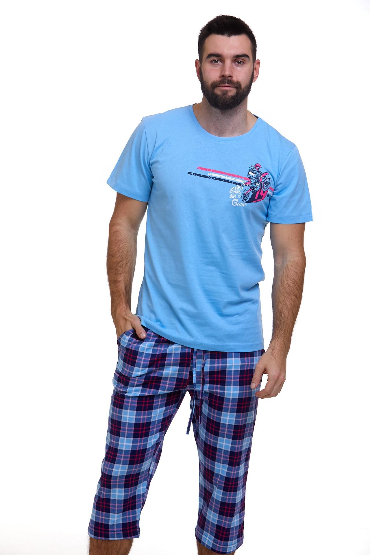 Pánské pyžamo Motorka 1P1107