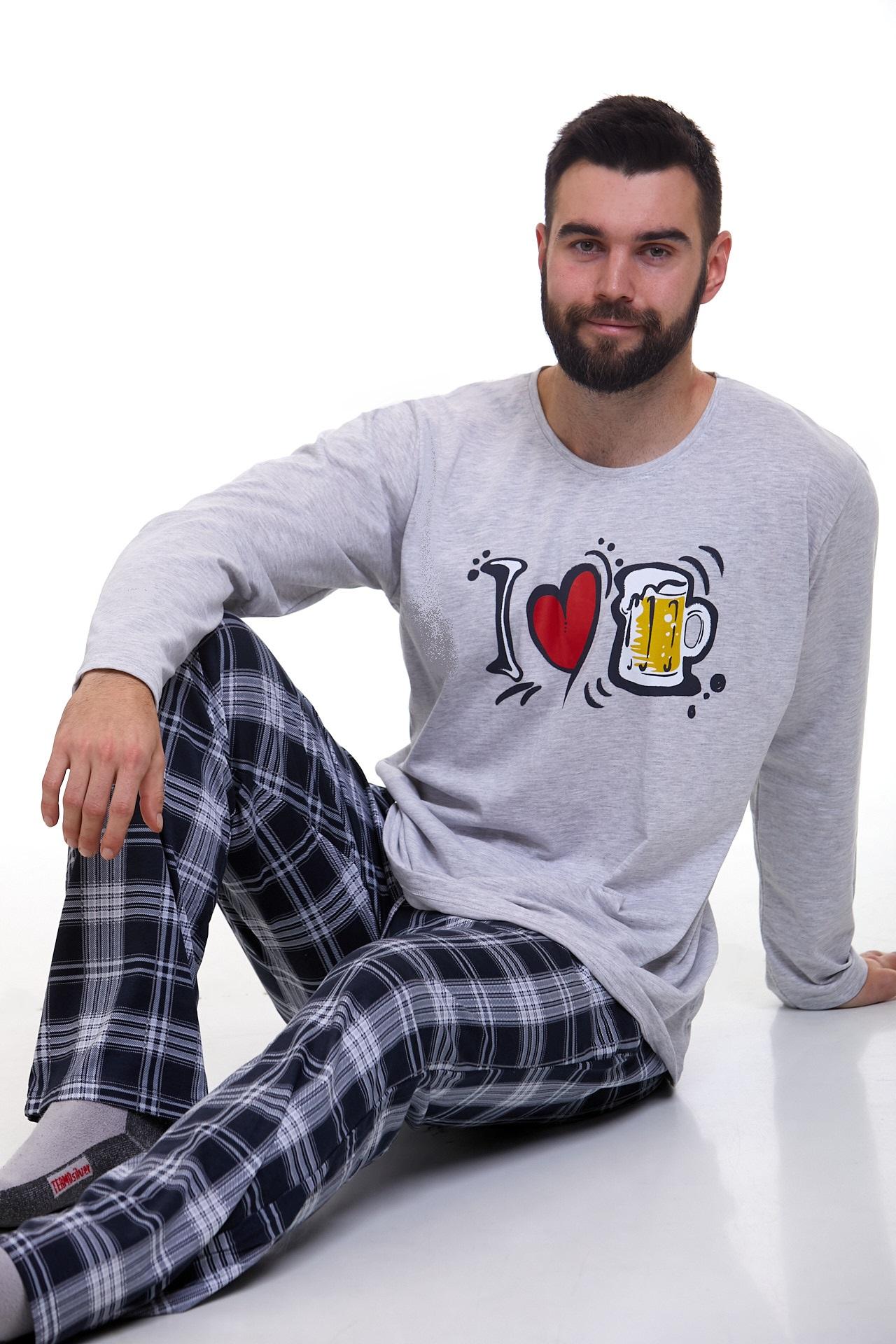 Pyžamo pro muže luxusní 1P1120