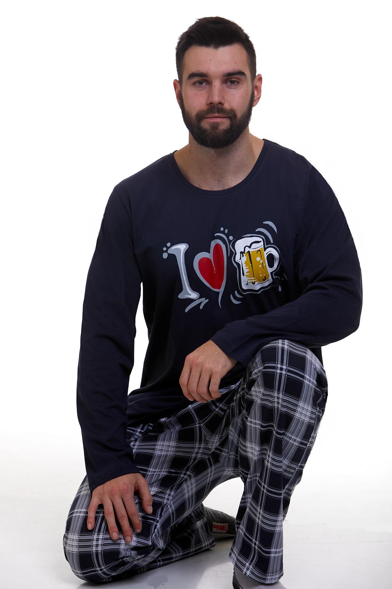 Pyžamo pro muže luxusní Pivo 1P1119