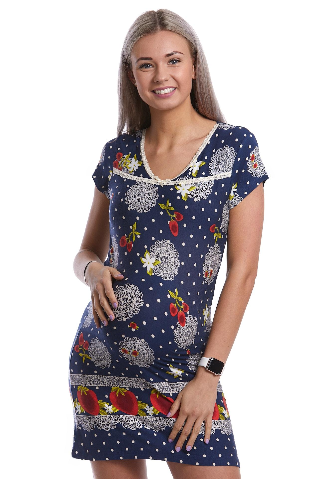Těhotenská košilka jemná extra pružná 1D0944
