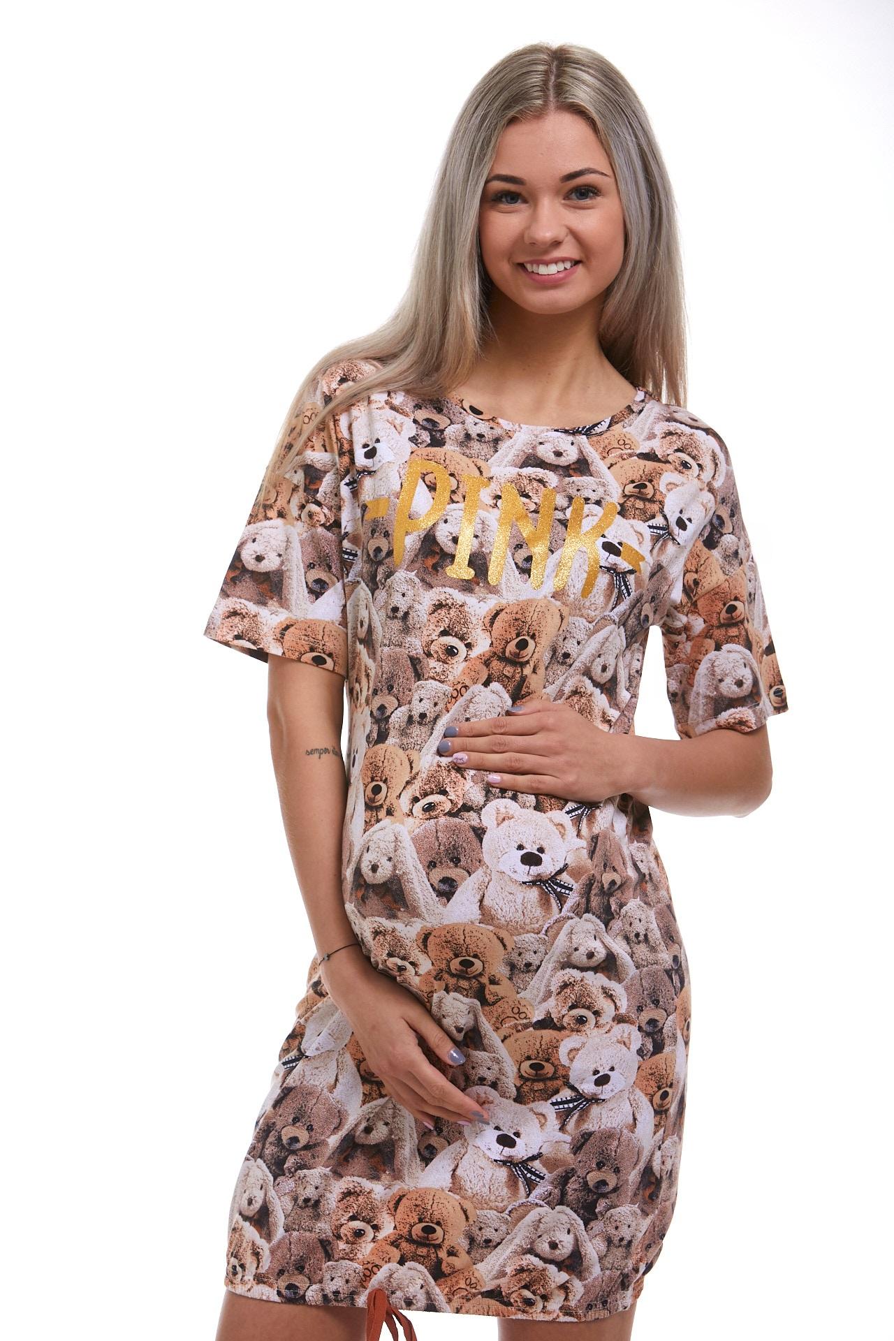 Košilka pro těhotné méďové