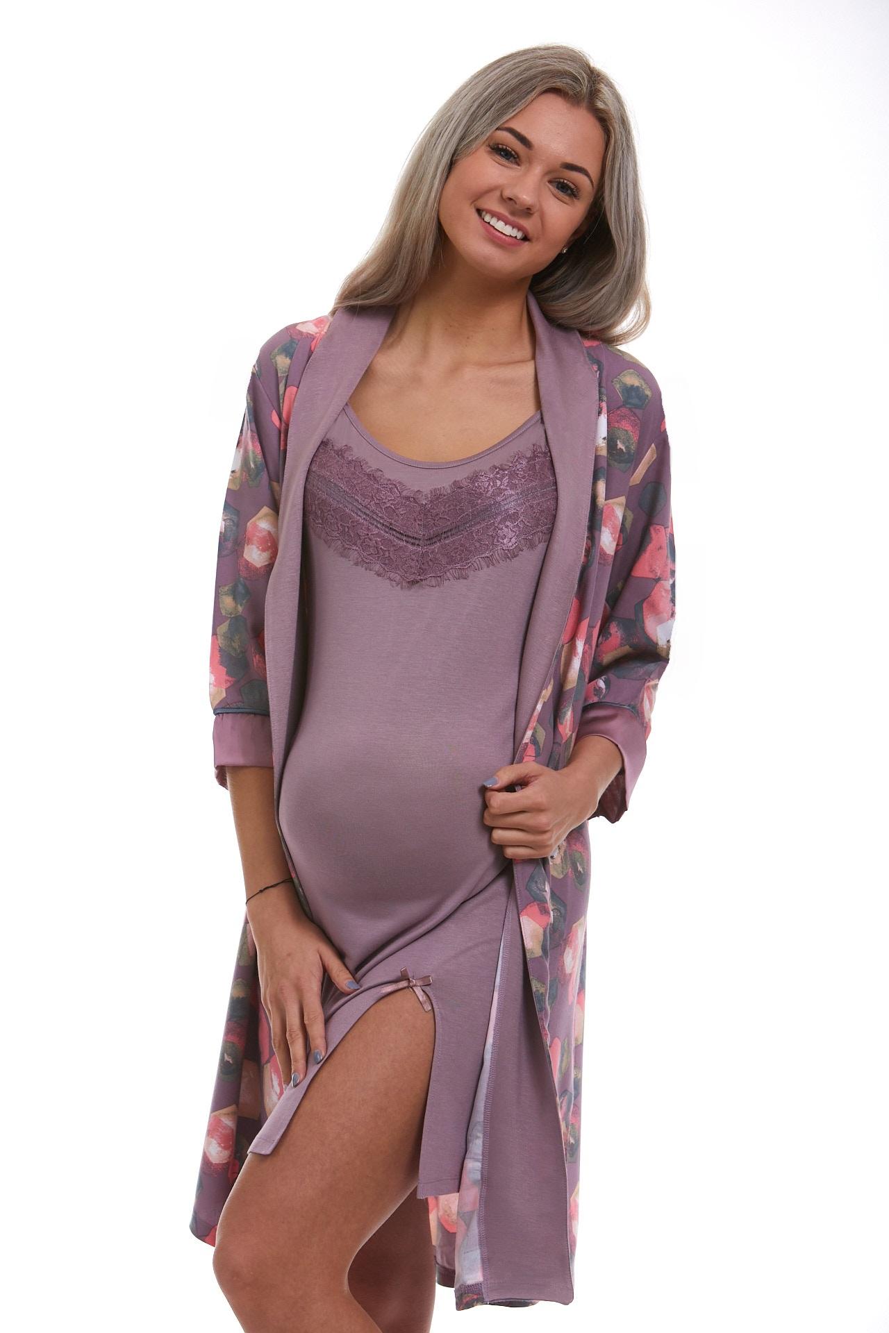 Těhotenský komplet do porodnice na kojení 1D1000