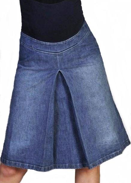 Těhotenská sukně 1A0229
